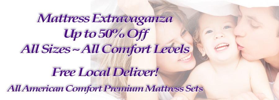 mattress extravaganza