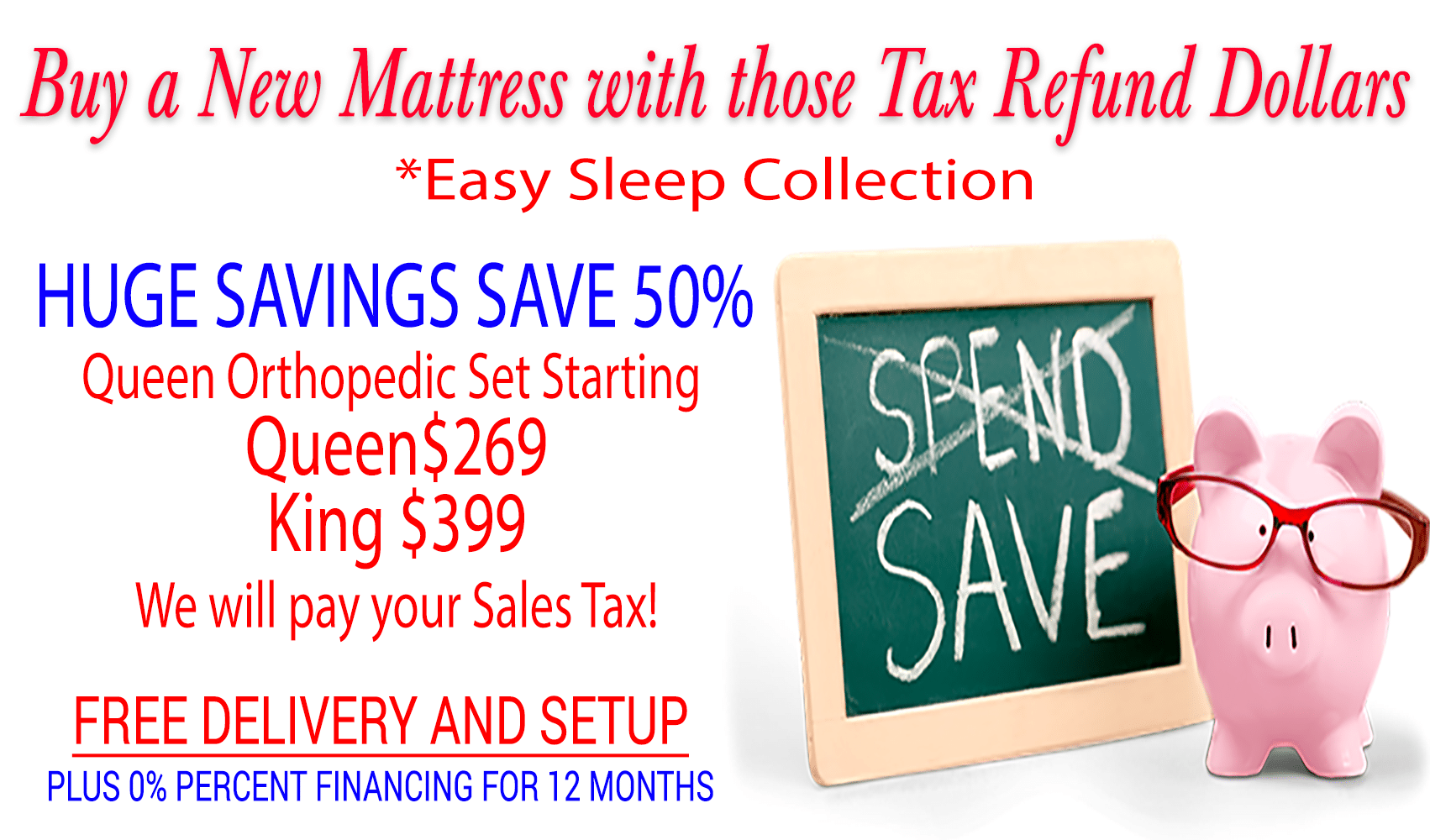 Huge Mattress Sales Going On Now